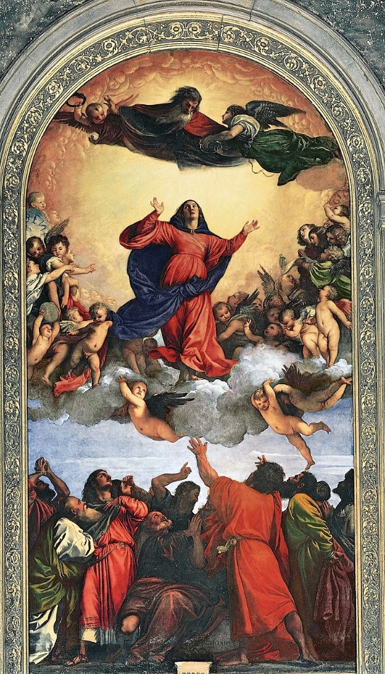 Titian's Assumption, in Venice's Basilica di Santa Maria Glorioso die Frari, was on Laura's must-see list, and it was worth it. No less an aesthete than Oscar Wilde called it the most beautiful picture in Italy.