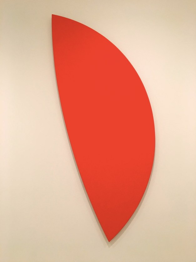 "Ellsworth Kelly's ""Red Curves"" from 1996. Just something about it..."