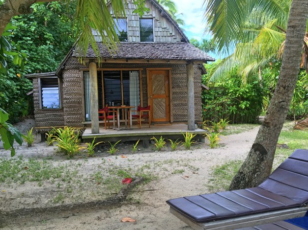 Our rustic cabin-like fale