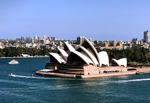 The Sydney Opera House, about as iconic as you can get