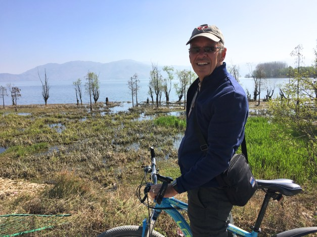 We're doing a two-week ride in Japan in just four weeks. Given how tired I was after just a couple hours on flat land around the lake I'm a little concerned about how that's going to work out.