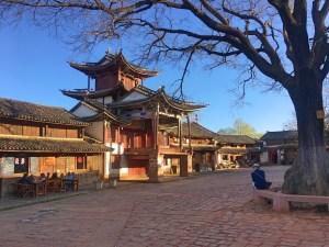 Shaxi's main square