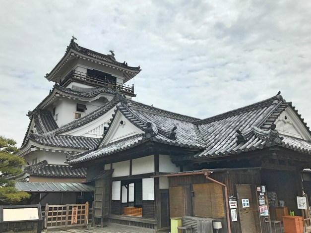 The Kochi castle was one of the few castles in Japan not destroyed or even severely damaged during the War