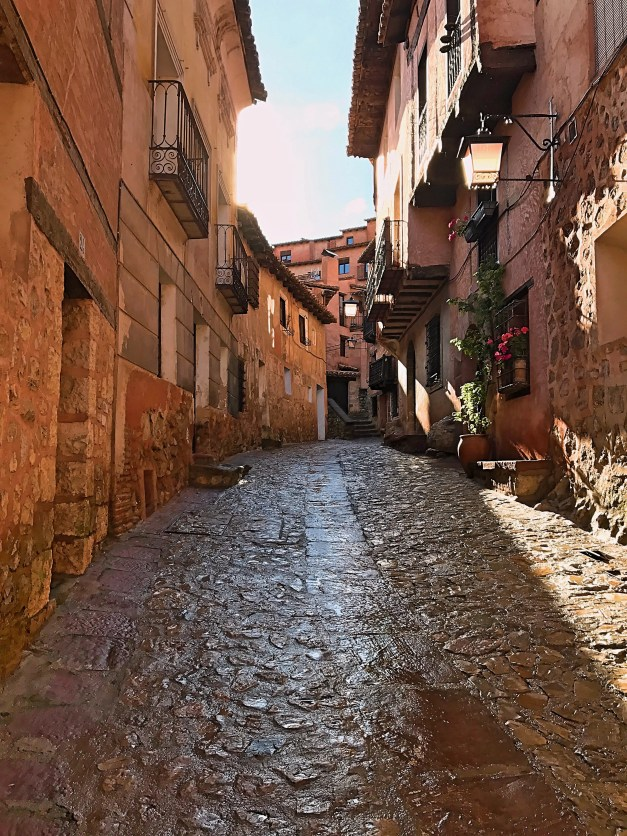 The streets of Albarracín were windy, narrow, and beautiful