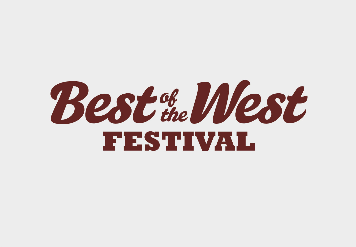 Best of The West Festival