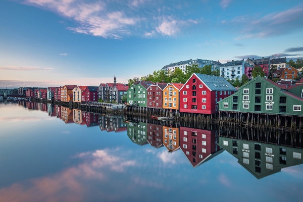 Colours of Trondheim