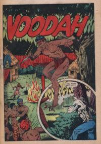 Voodah Crown Comics 3 by Matt Baker courtesy of DCM