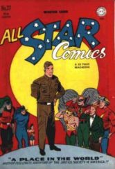 HEROES and VILLAINS with DISABILITIES in 1940s Comic Books