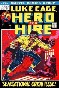 Black Superheroes-Luke Cage