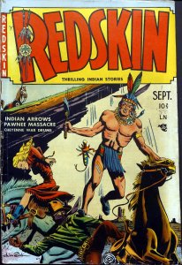 Indian superheroes-Redskin cover