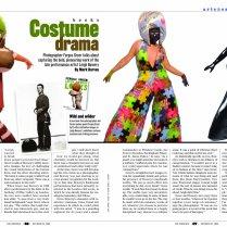 The Advocate magazine Entertainment Lead Spread