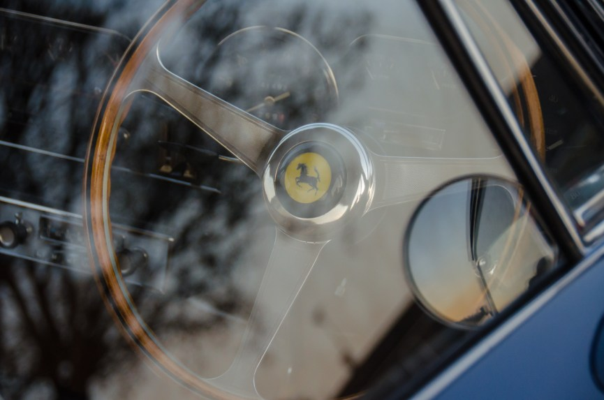 Ferrari 275GTB Steering Wheel
