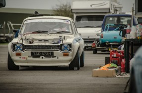 Ford Escort mk1 in the Paddock
