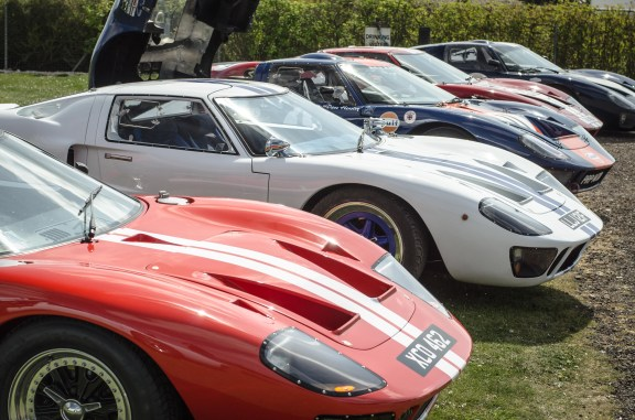 Ford GT40 Line Up