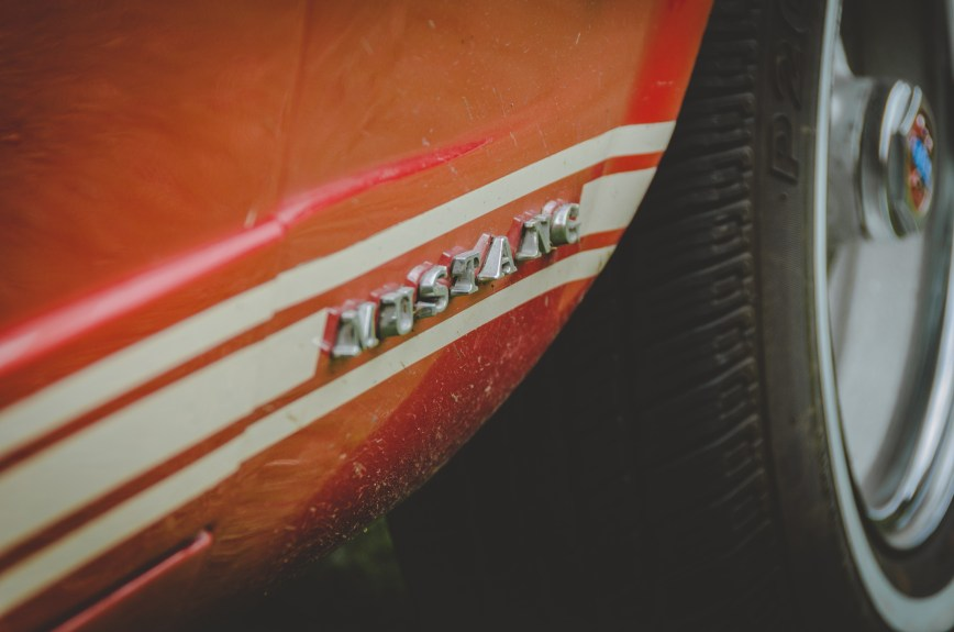 Ford Mustang Lower Wing Badge