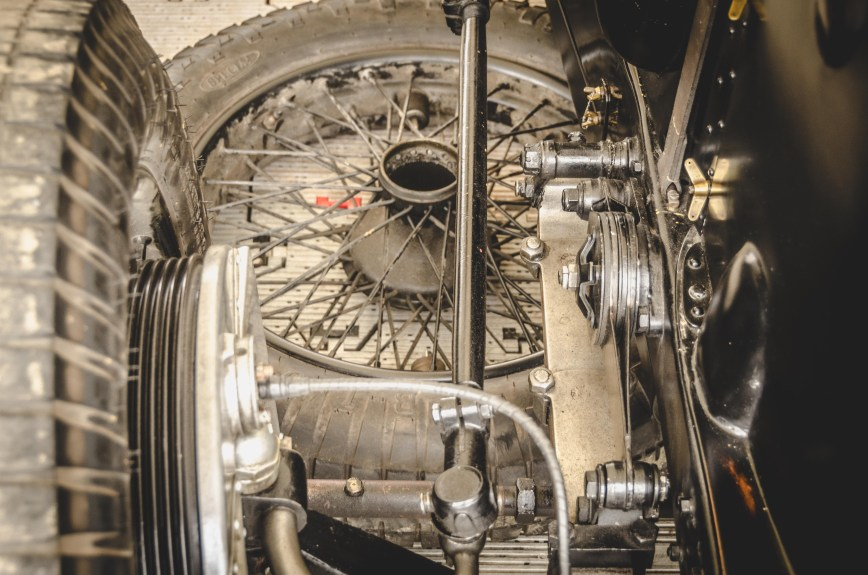 Wire Wheel Details Goodwood Festival of Speed 2017