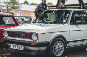 Golf GTi Classic Car at Bicester Heritage Sunday Scramble