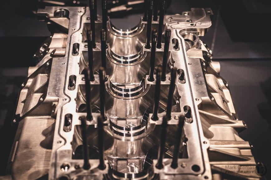 Ferrari Engine Construction