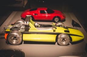 Wooden Prototype of a Ferrari Grand Prix Car