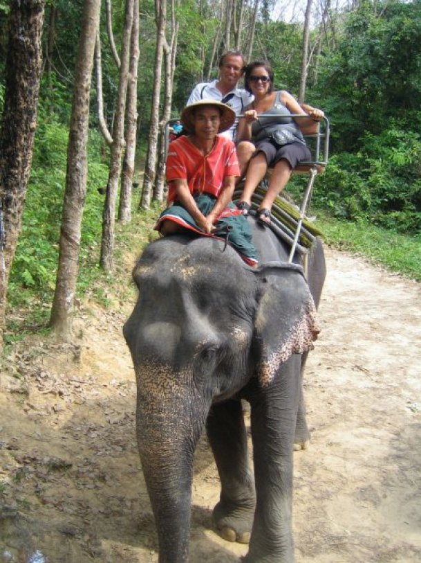 Elephant ride 2