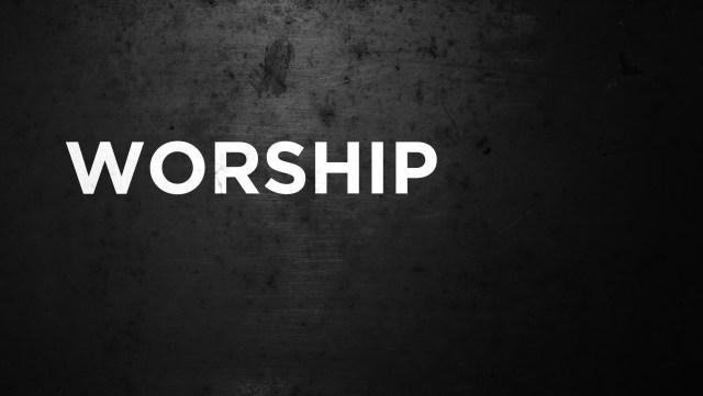 Worship black - white