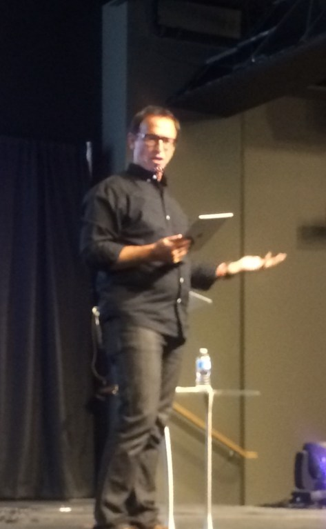 Speaking at C3