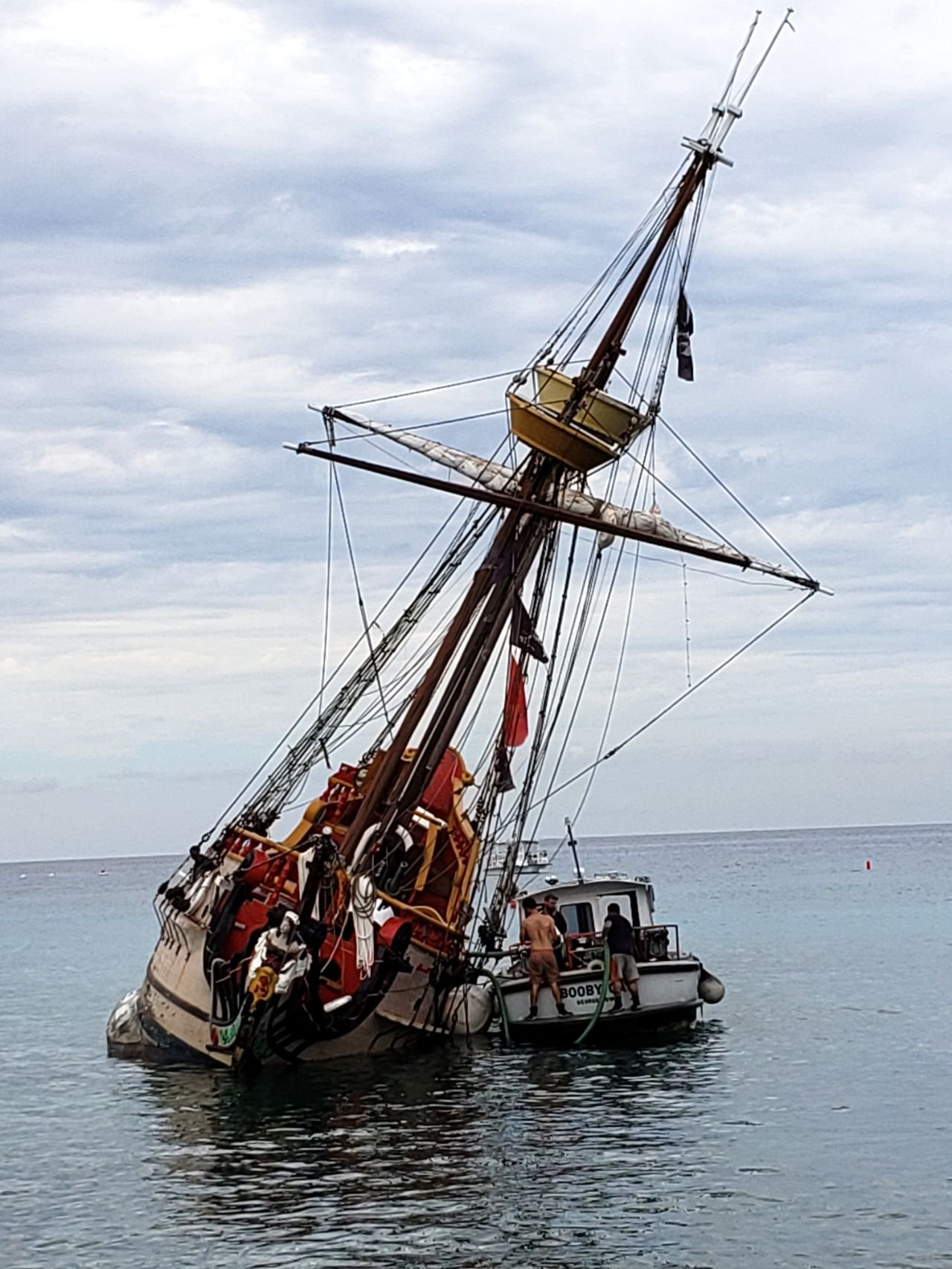 The Sinking Pirate Ship