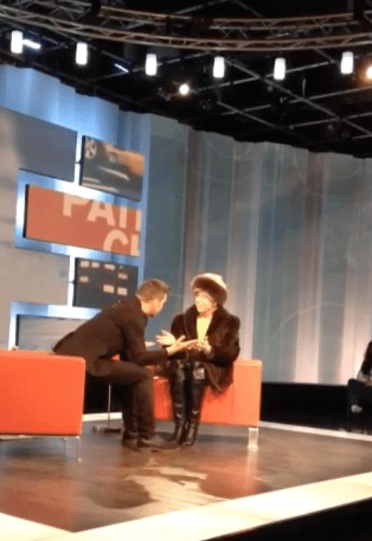 Stroumbo speaks with Liz Dobis