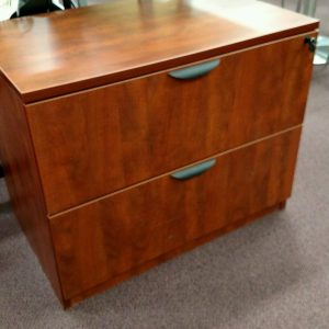 Pre-owned Office Source Lateral File – Cherry