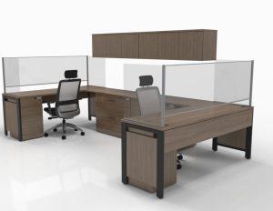 Glass Desk Panels Mark Downs Office Furniture