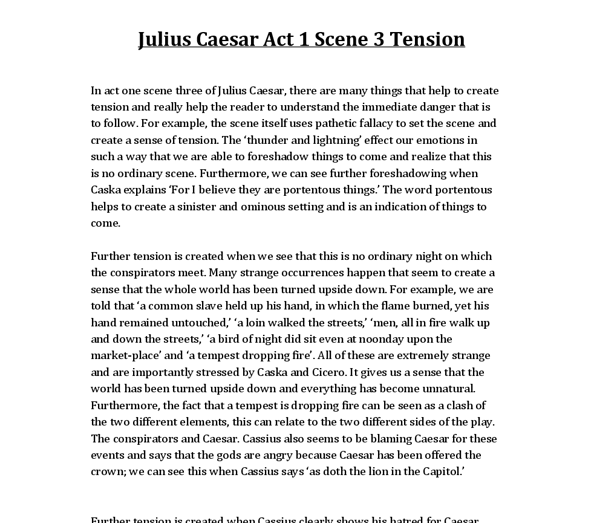 essay on julius caesar act 1 Compare and contrast essay graphic organizer julius caesar act 3 scene 2, free resources to use when teaching julius caesar act  summary julius caesar act 3 scene 1.