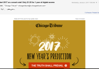 Chicago Tribune Email