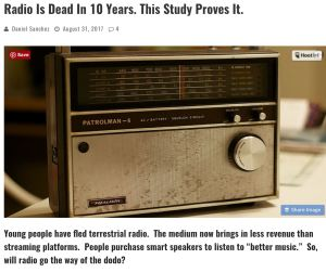 Digital Music News radio story