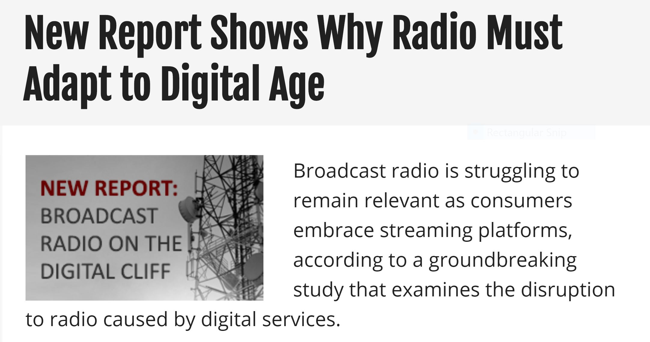 Is Radio Dying A Slow Death? It CAN Be Avoided — Mark Edwards Worldwide
