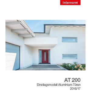 Internorm-Alutür AT200
