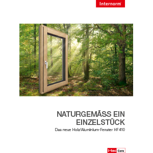 Internorm-Holz/Alu-Fenster HF 410