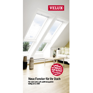 Velux-Dachfenster