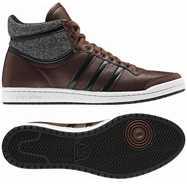 Adidas Originals Top Ten Hi Sleek Series Braun Schuhe ...
