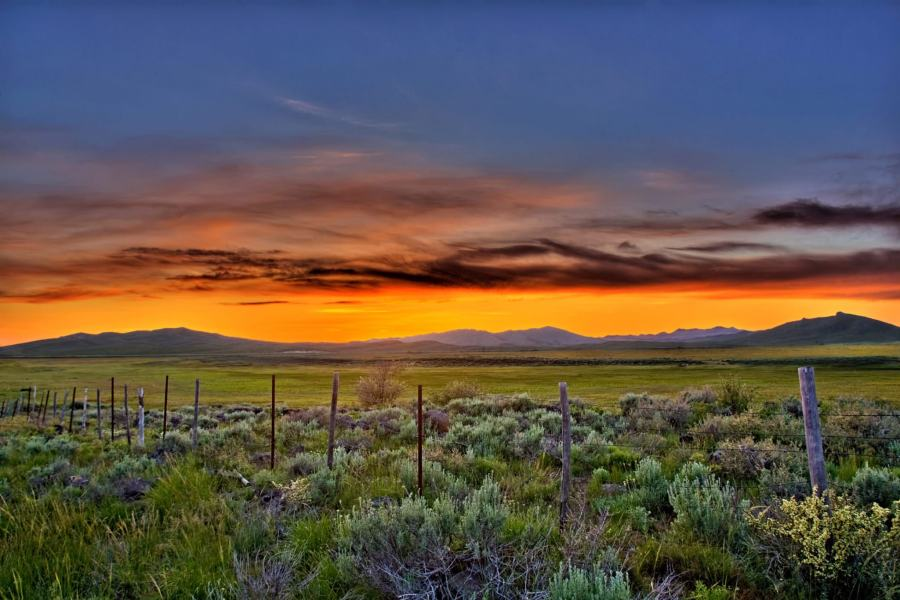 Mark Epstein Photo | Sunset in the High Desert