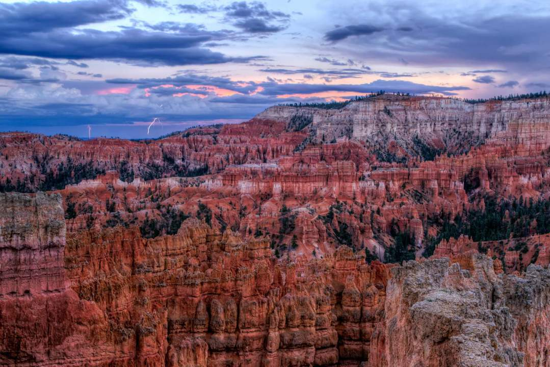 Mark Epstein Photo | Bryce Canyon Lightning Storm