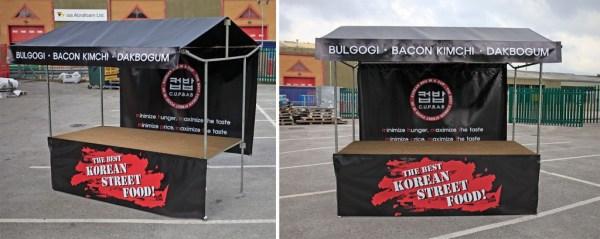 From Branded Street Food Gazebos To Printed Market Stalls