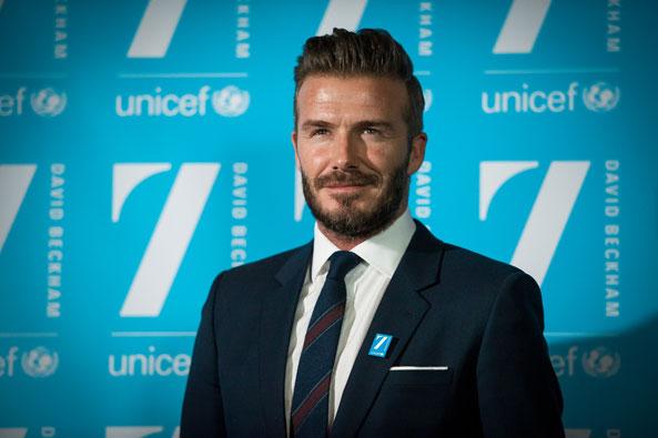 David Beckham And 7 Helping Kids UNICEF Market Blog