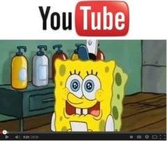 Spongebob on YouTube