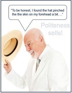 Polite negative opinions