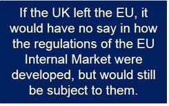 EU exit would harm London