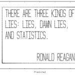 LIES, LIES AND DAMN LIES – 1