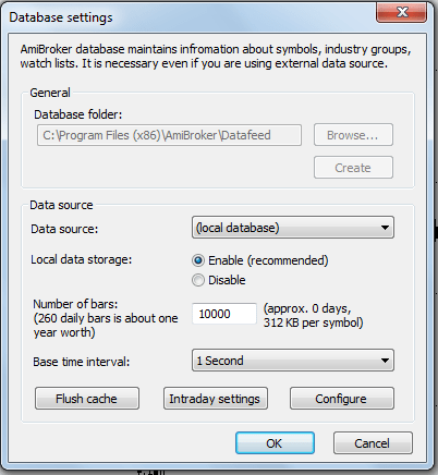 Datafeeder – Free Realtime Datafeed for Amibroker