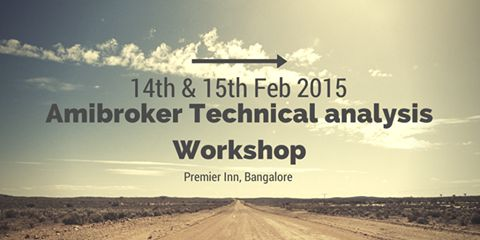 Attend Amibroker Workshop - Bangalore - Feb 2014