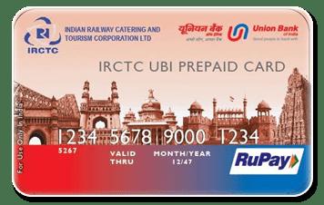 IRCTC-UBIprepaidCard
