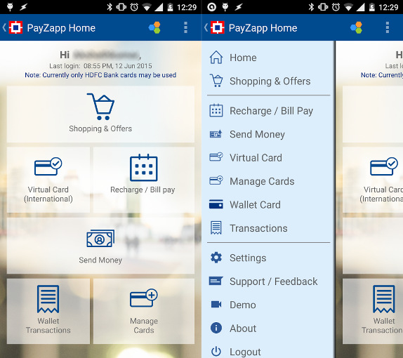 HDFC-PayZapp Mobile
